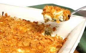 Green Bean Casserole with Mozzarella Cheese