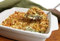 Green Bean Casserole with Swiss Cheese