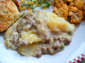ground beef shepherds pie Recipe