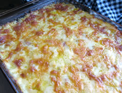 ham and cheese hash brown casserole Recipe