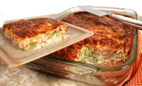 ham and cheese bake Recipe