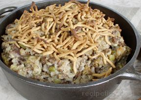 Hamburger Rice Casserole Recipe