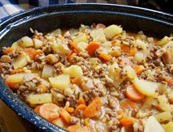 Hamburger Potato Hotdish Recipe Recipetips Com