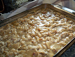 Leftover Turkey Dressing Casserole