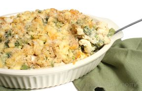 Macaroni and Cheese with Chicken and BroccolinbspRecipe