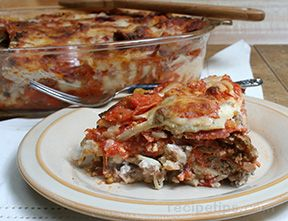 Pepperoni Sausage Lasagna Recipe