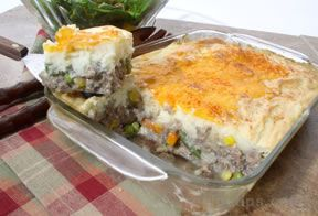 Turkey Shepherd Pie Recipe