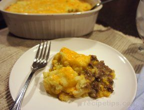 cheesy shepherds pie Recipe