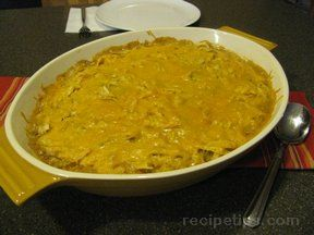 Southwestern Chicken Casserole Recipe