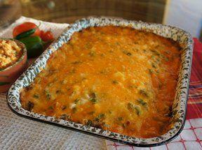 taco bake with doritos Recipe