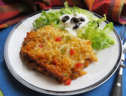 Taco Hashbrown Casserole Recipe