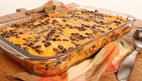 Chicken Tortilla and Cheese Bake