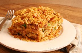 Tuna Noodle Casserole with Peas