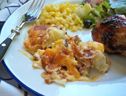 Twice Baked Potato  Bacon Casserole Recipe