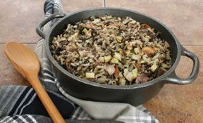 Wild Rice with Saut#195#169ed Vegetables