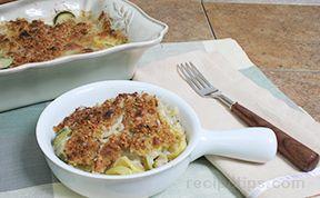 Yellow Squash and Zucchini Gratin