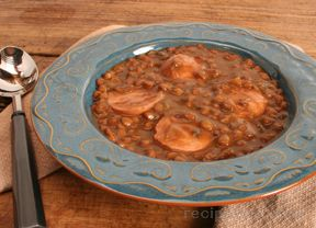 Lentil and Sausage Soup Recipe
