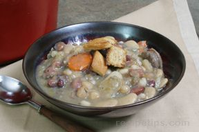 Bean Soup with Sausage Recipe