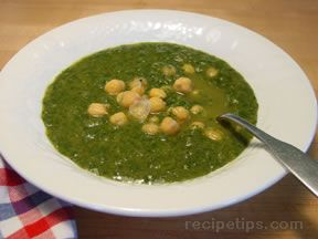 beans and greens soup Recipe