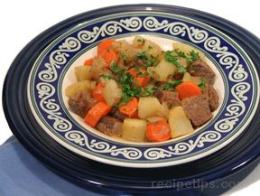 Bottom Round Beef Stew