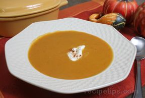Butternut Squash and Apple BisquenbspRecipe