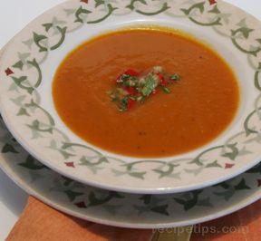 Butternut Salsa Soup