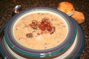 Bacon Cheeseburger Soup Recipe