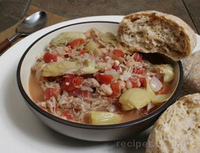 Chicken Chili with White Beans Recipe