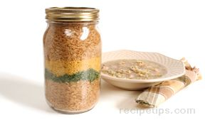 chicken and brown rice soup mix Recipe