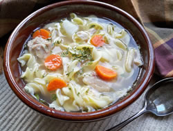 Chicken Noodle and Vegetable Soup Recipe