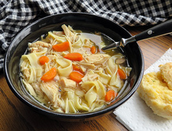 chicken noodle soup with vegetables Recipe
