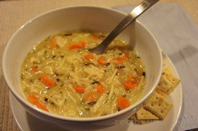 Souper Simple Chicken Wild Rice Soup Recipe