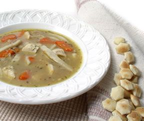 Chicken Vegetable and Noodle Soup