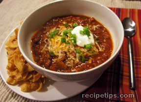 Beefy Bean Chili Recipe