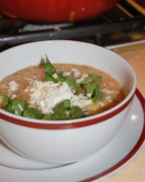 Chili with Chicken and White Beans