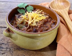 turkey and black bean chili Recipe