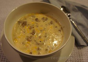 Corn  Sausage Chowder Recipe