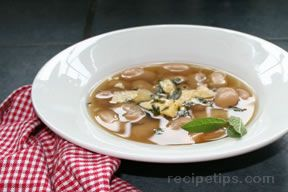 Corona Beans in Broth Recipe