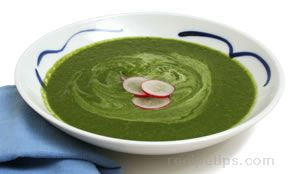 Green Garden Soup Recipe