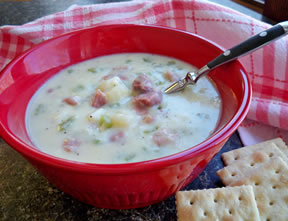 ham and potato soup Recipe