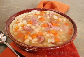 White Bean and Ham Soup Recipe