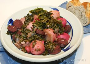 kale and sausage stew Recipe