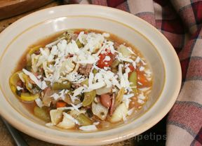 Fall Minestrone Soup Recipe