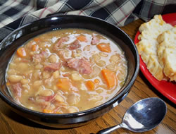 old fashioned bean soup Recipe