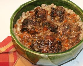Oxtail Stew with Beans Recipe
