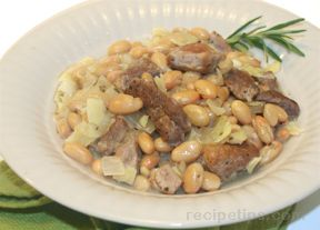Pork and Bean Stew