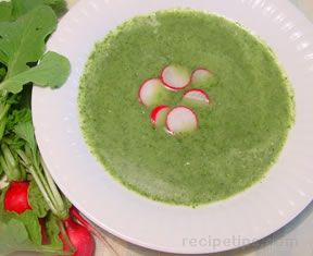 Radish Greens Soup Recipe