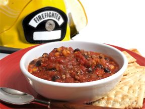 Ricks Firehouse Chorizo Chili