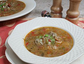 hearty seafood gumbo Recipe