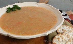 Puréed Celery Soup